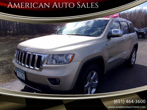 2011 Jeep Grand Cherokee for sale at American Auto Sales in Forest Lake MN