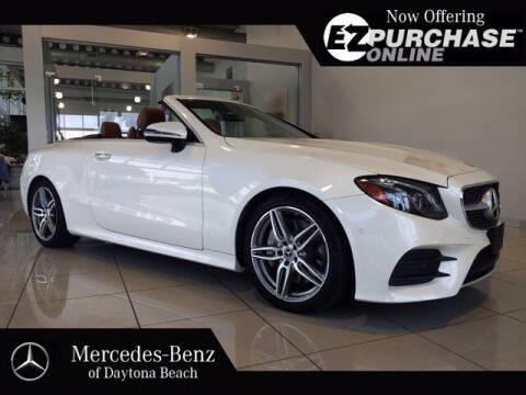 2018 Mercedes-Benz E-Class for sale at Mercedes-Benz of Daytona Beach in Daytona Beach FL