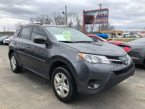 2014 Toyota RAV4 for sale at Albi Auto Sales LLC in Louisville KY