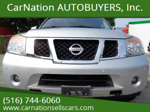 2008 Nissan Armada for sale at CarNation AUTOBUYERS, Inc. in Rockville Centre NY