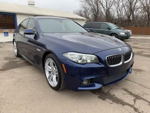 2016 BMW 5 Series for sale at Ol Mac Motors in Topeka KS