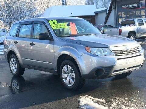 2009 Subaru Forester for sale at United Auto Service in Leominster MA