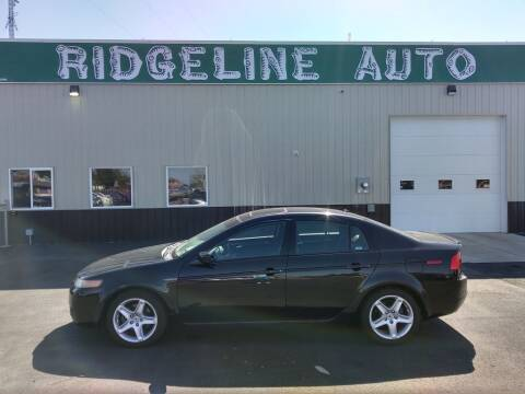 2006 Acura TL for sale at RIDGELINE AUTO in Chubbuck ID