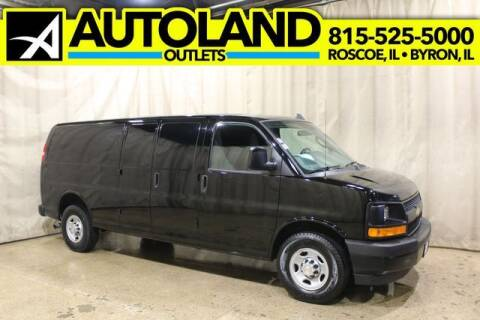 2017 Chevrolet Express Cargo for sale at AutoLand Outlets Inc in Roscoe IL