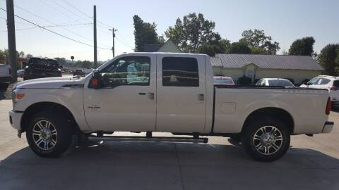 2014 Ford F-250 Super Duty for sale at Crossroads Auto Sales LLC in Rossville GA