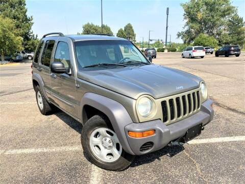 2004 Jeep Liberty for sale at CarDen in Denver CO