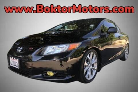 2012 Honda Civic for sale at Boktor Motors in North Hollywood CA