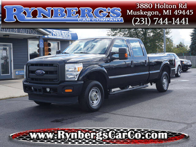 2015 Ford F-250 Super Duty for sale at Rynbergs Car Co in Muskegon MI