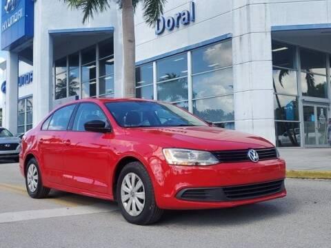 2014 Volkswagen Jetta for sale at DORAL HYUNDAI in Doral FL