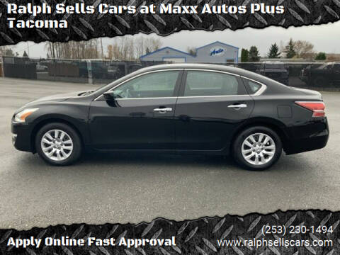 2015 Nissan Altima for sale at Ralph Sells Cars at Maxx Autos Plus Tacoma in Tacoma WA