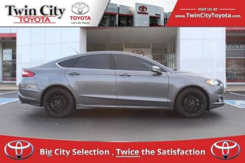 2014 Ford Fusion for sale at Twin City Toyota in Herculaneum MO