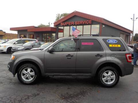 2012 Ford Escape for sale at Super Service Used Cars in Milwaukee WI