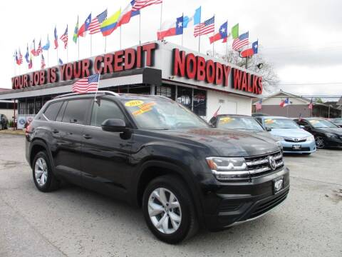2018 Volkswagen Atlas for sale at Giant Auto Mart 2 in Houston TX
