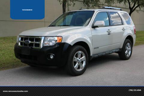 2008 Ford Escape for sale at Ven-Usa Autosales Inc in Miami FL