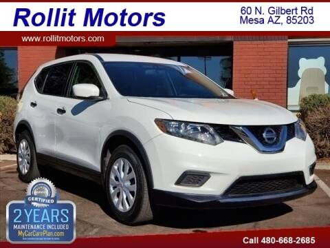 2016 Nissan Rogue for sale at Rollit Motors in Mesa AZ