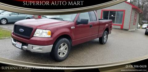 2005 Ford F-150 for sale at SUPERIOR AUTO MART in Amelia OH