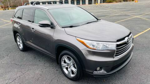 2015 Toyota Highlander for sale at H & B Auto in Fayetteville AR