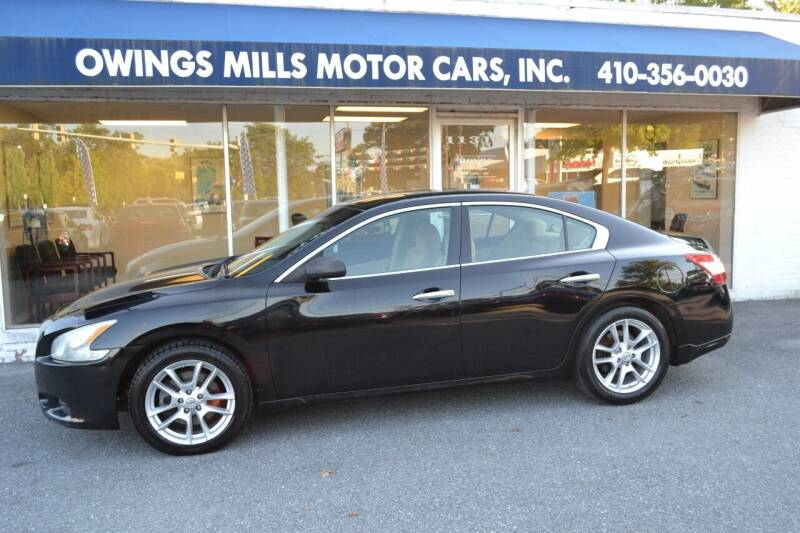 2011 Nissan Maxima for sale at Owings Mills Motor Cars in Owings Mills MD