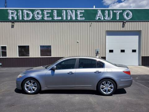 2011 Hyundai Genesis for sale at RIDGELINE AUTO in Chubbuck ID