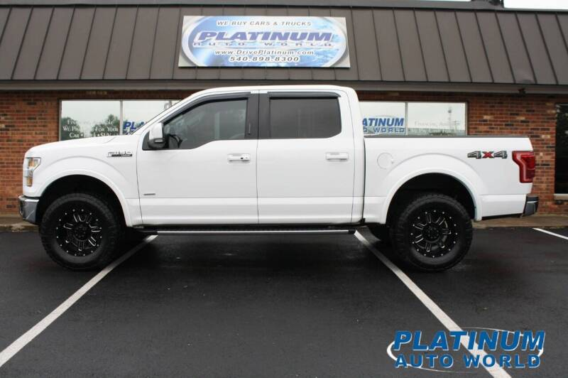 2016 Ford F-150 for sale at Platinum Auto World in Fredericksburg VA