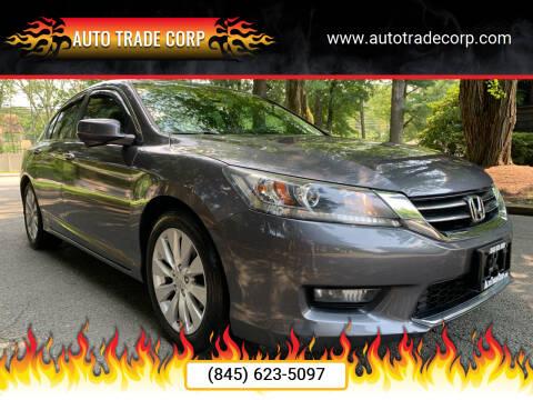 2014 Honda Accord for sale at AUTO TRADE CORP in Nanuet NY