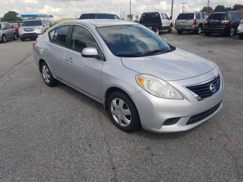 2013 Nissan Versa for sale at Brewster Used Cars in Anderson SC