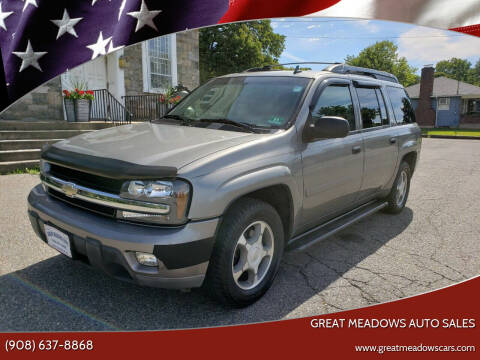 2006 Chevrolet TrailBlazer EXT for sale at GREAT MEADOWS AUTO SALES in Great Meadows NJ