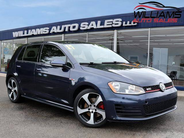 2017 Volkswagen Golf GTI for sale at Williams Auto Sales, LLC in Cookeville TN