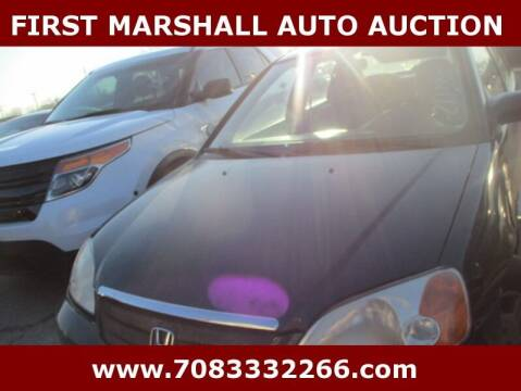 2001 Honda Civic for sale at First Marshall Auto Auction in Harvey IL