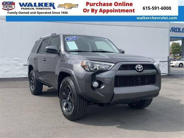 2019 Toyota 4Runner for sale at WALKER CHEVROLET in Franklin TN
