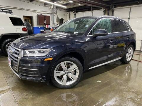 2018 Audi Q5 for sale at Sonias Auto Sales in Worcester MA