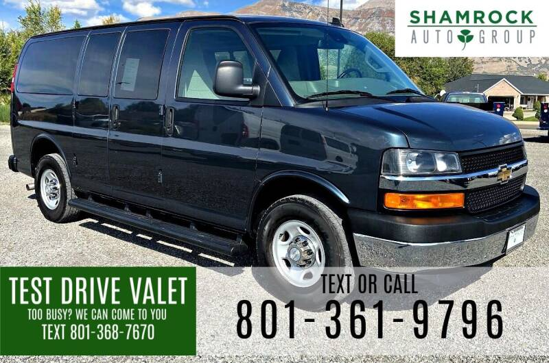 2019 Chevrolet Express Passenger for sale at Shamrock Group LLC #1 in Pleasant Grove UT