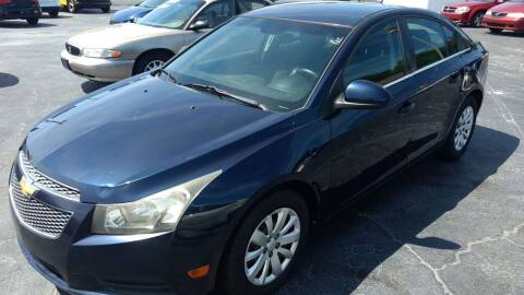 2011 Chevrolet Cruze for sale at AFFORDABLE AUTO SALES in We Finance Everyone! FL