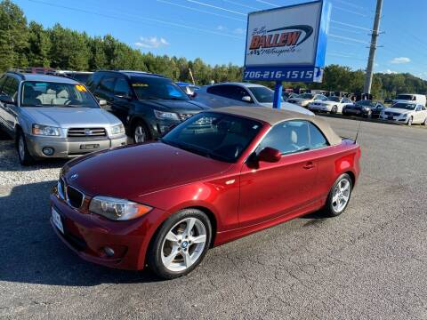 2013 BMW 1 Series for sale at Billy Ballew Motorsports in Dawsonville GA