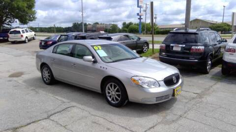 2007 Buick Lucerne for sale at Regency Motors Inc in Davenport IA