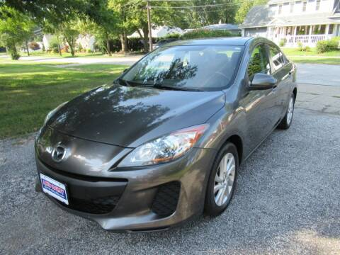 2013 Mazda MAZDA3 for sale at Lake County Auto Sales in Painesville OH