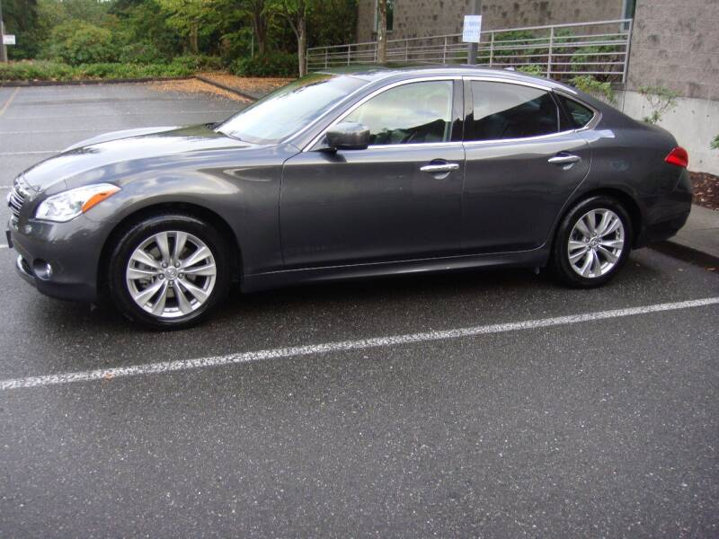 2013 Infiniti M37 for sale at Western Auto Brokers in Lynnwood WA
