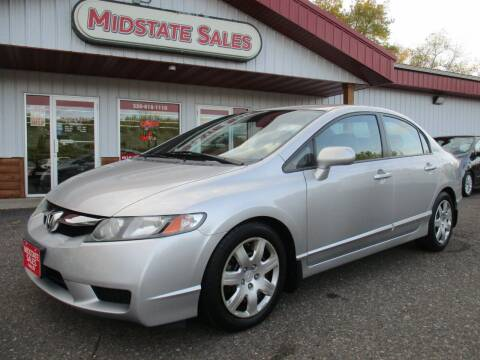 2009 Honda Civic for sale at Midstate Sales in Foley MN