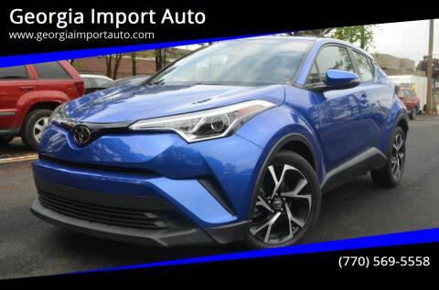 2018 Toyota C-HR for sale at Georgia Import Auto in Alpharetta GA