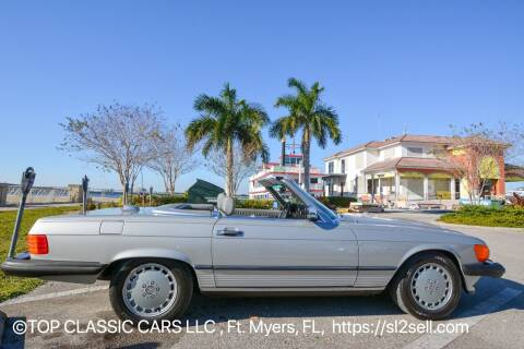 1986 Mercedes-Benz 560-Class for sale at Top Classic Cars LLC in Fort Myers FL
