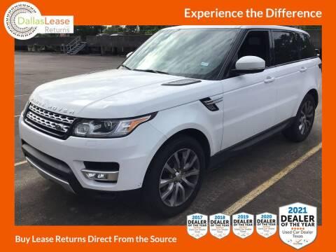 2015 Land Rover Range Rover Sport for sale at Dallas Auto Finance in Dallas TX