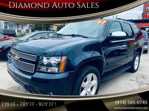 2007 Chevrolet Tahoe for sale at Diamond Auto Sales in Milwaukee WI