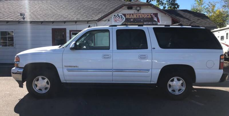 2006 GMC Yukon XL for sale at Martinez Cars, Inc. in Lakewood CO