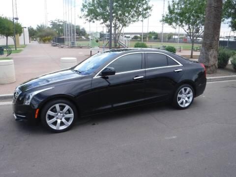 2016 Cadillac ATS for sale at J & E Auto Sales in Phoenix AZ