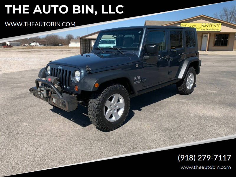 2008 Jeep Wrangler Unlimited for sale at THE AUTO BIN, LLC in Broken Arrow OK