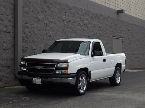2007 Chevrolet Silverado 1500 Classic for sale at Gilroy Motorsports in Gilroy CA