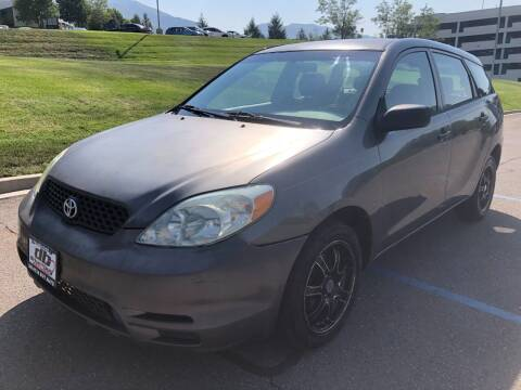 2004 Toyota Matrix for sale at DRIVE N BUY AUTO SALES in Ogden UT
