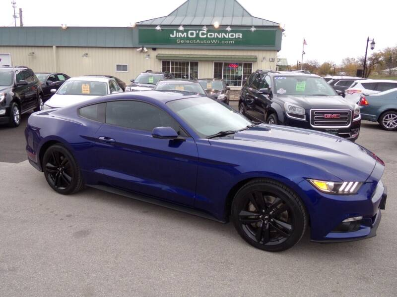 2015 Ford Mustang for sale at Jim O'Connor Select Auto in Oconomowoc WI