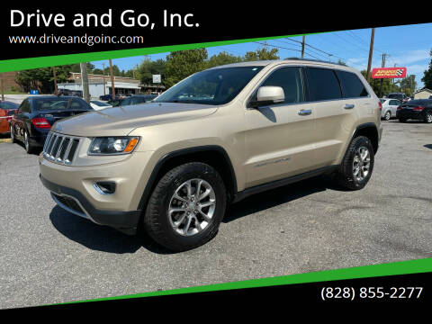 2014 Jeep Grand Cherokee for sale at Drive and Go, Inc. in Hickory NC