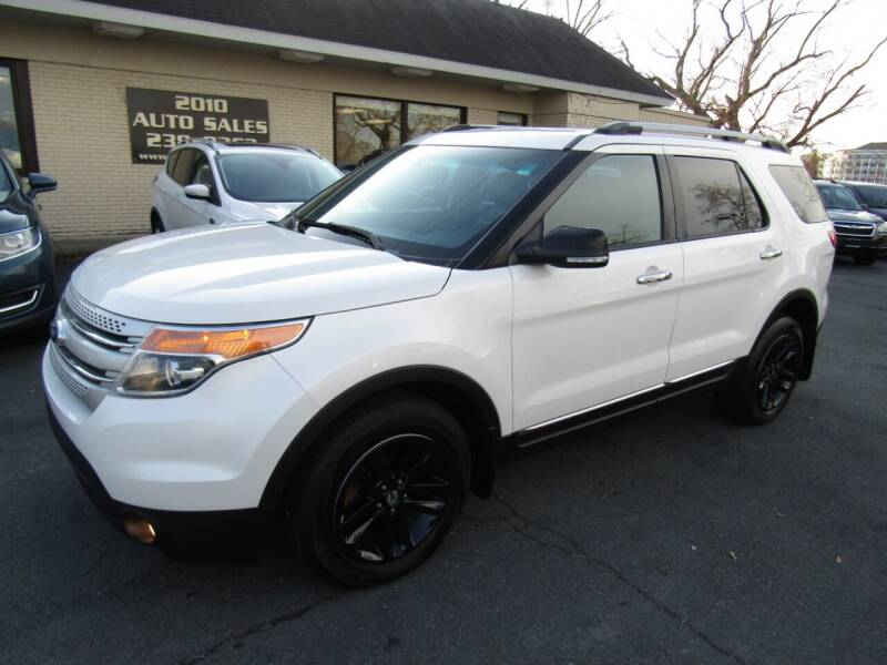 2015 Ford Explorer for sale at 2010 Auto Sales in Troy NY